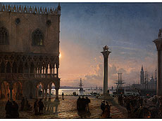 Friedrich Nerly the Elder, 1807 Erfurt – 1878 Venice