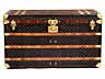 Detail images: Louis Vuitton Steamer Trunk