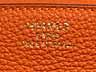 Detail images: Hermès Birkin Bag 35 cm Orange