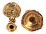 Detail images: Höchst qualitätvolle, seltene Louis XV-Kerzenleuchter nach Meissonier