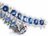 Detail images:  Saphir-Diamantarmband