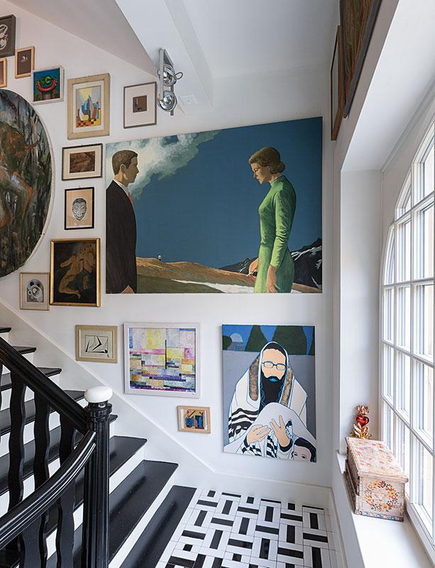 Ausstellung in der Villa Hampel vor der Auktion - Hampel Kunstauktionen in München